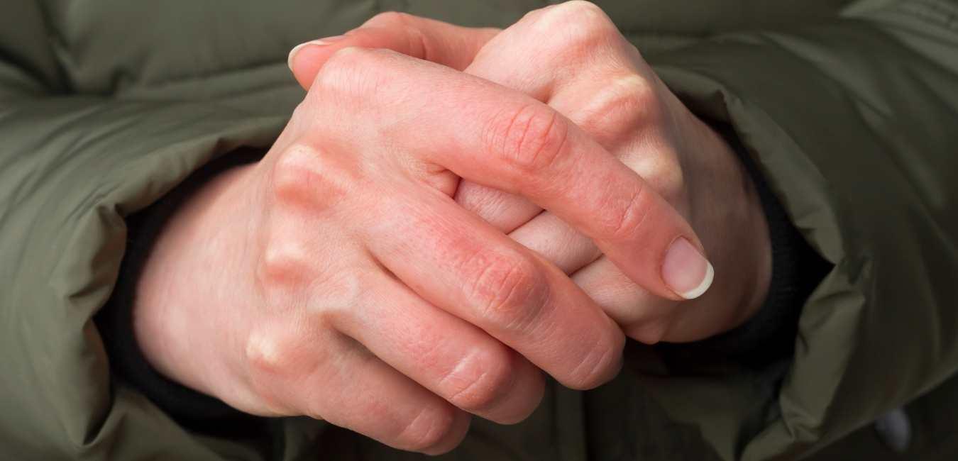 Kouden handen en voeten