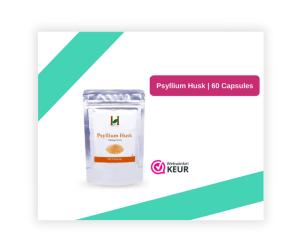 Psyllium Husk 60 capsules