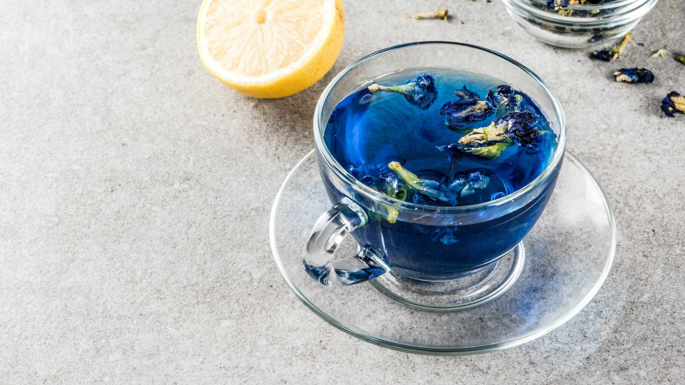 blue pea thee