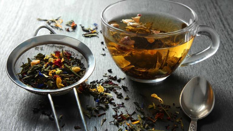 Gestoomde of gebakken thee