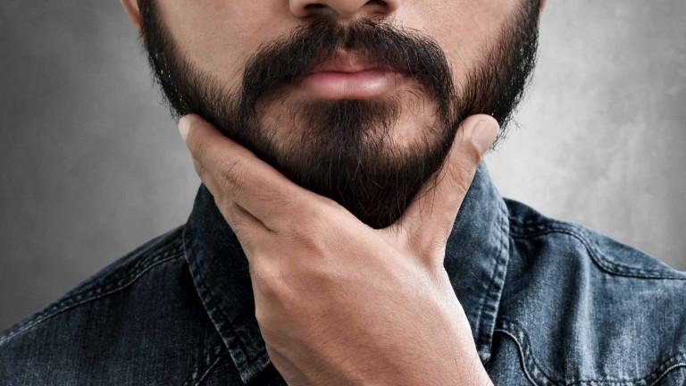 een baard groeien